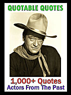 Quotable Quotes: Actors From The Past by…
