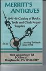 Merritt's Antiques 1995 - 1996 Catalog of Books, Tools and Clock Repair Supplies - Merritt's Antiques