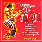 Karaoke from the King of Rock-n-Roll [CD]