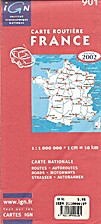 Ign 901, Carte Routiere France, Edition…