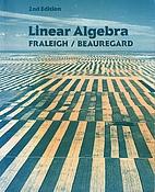 Linear Algebra by John B. Fraleigh