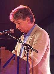 Author photo. Reinhard Jirgl, 2007.  Photo by user dontworry / Wikimedia Commons.
