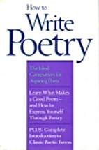 How to Write Poetry by Nancy Bogen
