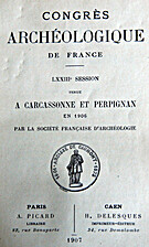 France: 1906, 73e Congrès archéologique de…