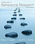 Methods in Behavioral Research (Eleventh…