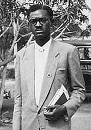 Author photo. Patrice E. Lumumba
