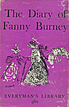 The Diary of Fanny Burney by Fanny Burney
