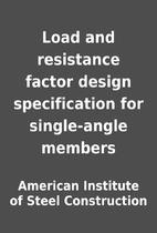 Load and resistance factor design…