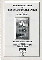 Intermediate guide to Genealogical research…