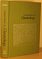 Foundations of Climatology: An Introduction…