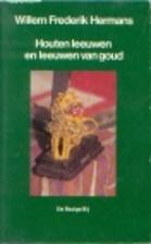 Houten leeuwen en leeuwen van goud by Willem…