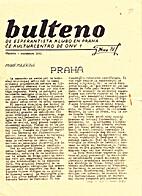 Bulteno de Esperantista Klubo en Praha (58)