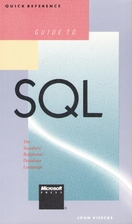 Quick Reference Guide to SQL by John Viescas