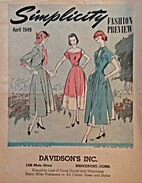 Simplicity Fashion Preview, 1949 April by…