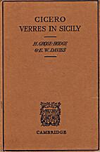 Verres in Sicily (Cambridge Elementary…