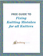 Free guide to fixing knitting mistakes for…