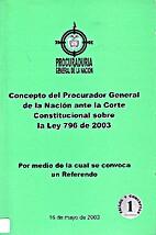 Concepto del Procurador General de la…