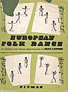 European Folk Dance: Its National and…