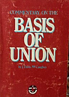 Commentary on the basis of union of the…