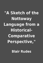A Sketch of the Nottoway Language from a…