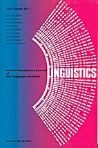 Linguistics 26 (1988) 1: 1-178