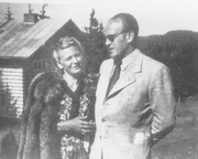 Author photo. Oskar y Emilie Schindler en 1946
