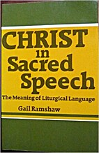 Christ in Sacred Speech: The Meaning of…