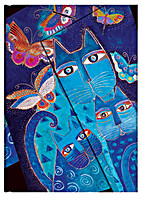 Paperblanks Fantastic Felines Blue Cats and…