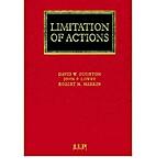 Limitation of Actions by Merkin, Robert (…