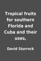 Tropical fruits for southern Florida and…