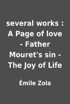 several works : A Page of love - Father…