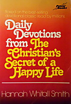 Daily Devotions from the Christian's…