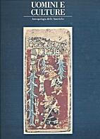 Uomini e culture: antropologia delle…