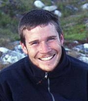 "Author photo. Gavin Francis, author of ""True North"""