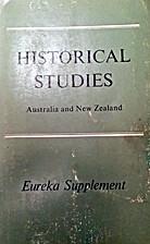 Historical Studies, Australia and New…