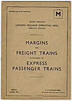 BR(M) Margins for Freight Trains in advance…