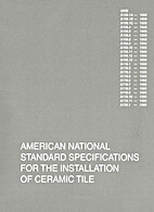 American National Standards Specifications…