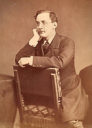 Author photo. Charles Dickens, Jr.