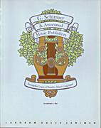 Twentieth-Century Chamber Music Catalogue by…