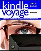 Kindle Voyage users manuel by Steve Weber