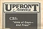 Upfront America (Volume 1, Number 10) CBS:…