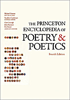 The Princeton Encyclopedia of Poetry and…