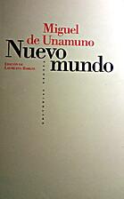 Nuevo mundo by Miguel de Unamuno
