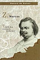 Z. Marcas suivi de  Traité des excitants…