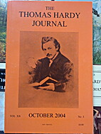 The Thomas Hardy Journal by The Thomas Hardy…