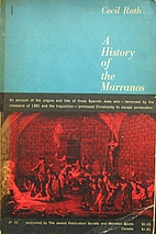 A history of the Marranos by Cecil Roth