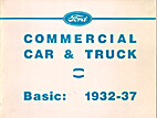 Ford Commercial Car & Truck Basic: 1932-37…