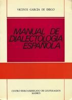 Manual de dialectología española by…
