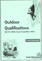 Outdoor qualifications = Ngā tohu…