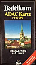 ADAC Karte Baltikum 1 : 500 000. Estland,…